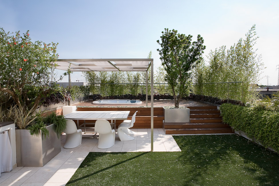Terrazze fontana for Soluzioni giardino