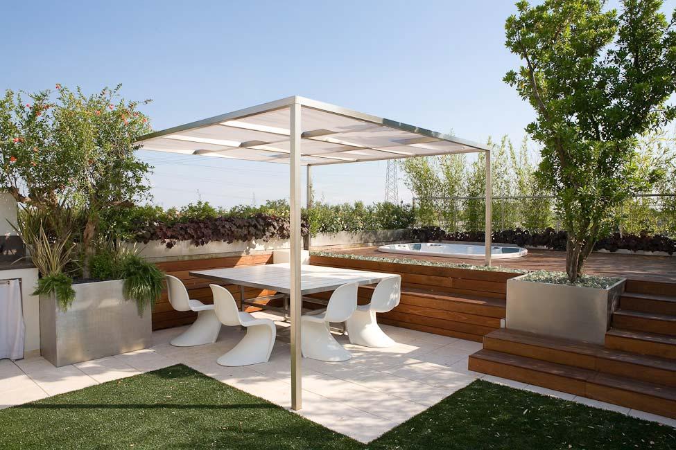 Il giardino pensile fontana for Terrazzo giardino progettazione